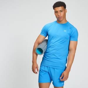 Moška majica s kratkimi rokavi Essentials Training – svetlo modra