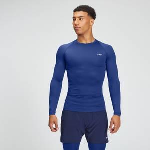 MP Men's Essentials Training Long Sleeve Baselayer - Intense Blue