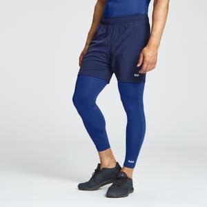 MP Essentials Training 3/4 Baselayer Leggings til mænd - Intens blå