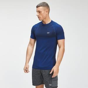 MP Men's Essential Seamless Short Sleeve T-Shirt - Intense Blue Marl