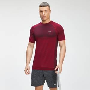 MP Men's Essential Seamless Short Sleeve T-Shirt - Wine Marl