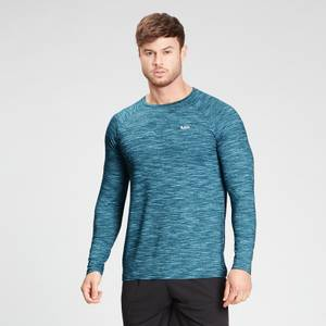 MP Men's Performance Long Sleeve Top - Deep Lake Marl