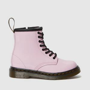 Dr. Martens Toddlers' 1460 Patent Lamper Lace Up Boots - Pale Pink