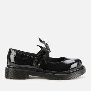 Dr. Martens Kids' Maccy II Mary Jane Shoe - Black Patent