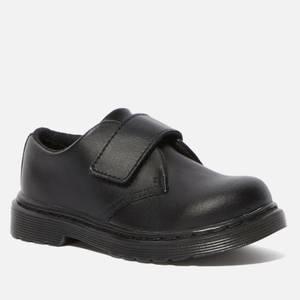 Dr. Martens Toddlers' Kamron Strap Shoe - Black Patent