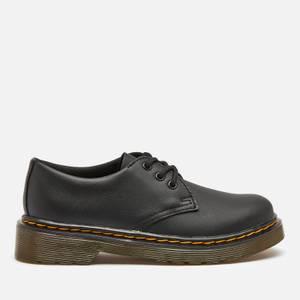 Dr. Martens Kids' Lace Shoe - Black Softy