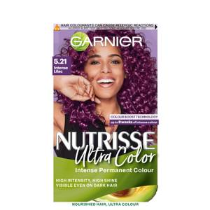 Garnier Nutrisse Ultra Colour Permanent Hair Dye - 5.21 Intense Lilac 160ml