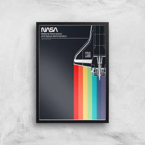NASA Leading The Way Giclee Art Print