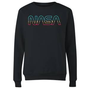 NASA Spectrum Women's Sweatshirt - Black