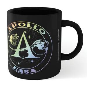NASA Apollo Mission Mug - Black