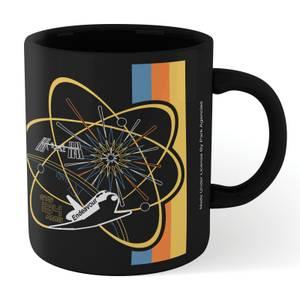 NASA Endeavour Mug - Black