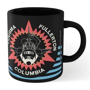 NASA Columbia Mug - Black