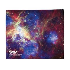 NASA Wrapped In The Tarantula Nebula Fleece Blanket