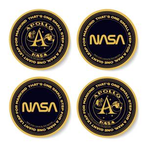 NASA Moon Token Coaster Set