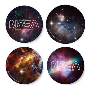 NASA Galaxy Brew Stop Coaster Set