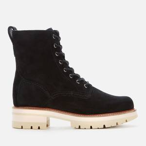 Clarks Women's Orianna Hi Suede Lace Up Boots - Black