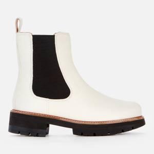 Clarks Women's Orianna Top Chelsea Boots - White Interest