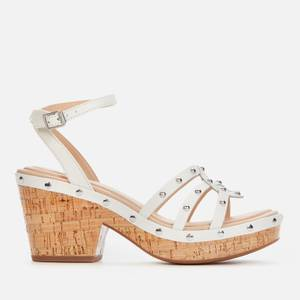 Clarks Women's Maritsa70 Sun Platform Heeled Sandals - White Interest