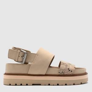 Clarks Women's Orianna Strap Sandals - Taupe
