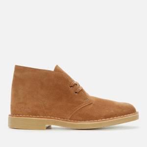 Clarks Men's Desert Boot 2 Suede Desert Boots - Cognac