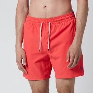 Polo Ralph Lauren Men's Traveler Swim Shorts - Racing Red