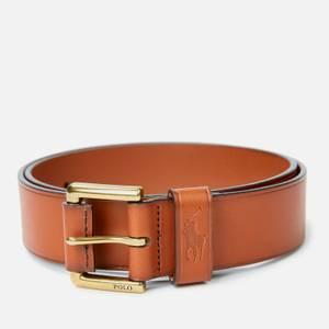 Polo Ralph Lauren Men's Leather Polo Dress Belt - Tan