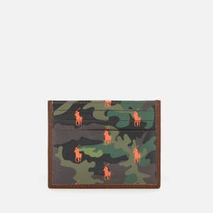 Polo Ralph Lauren Men's Smooth Leather Camo Cardholder - Multi