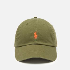 Polo Ralph Lauren Men's Cotton Chino Classic Sport Cap - Supply Olive