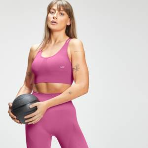 MP Women's Tempo Seamless Sports Bra - Pink