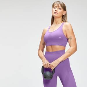 MP Women's Tempo Seamless Sports Bra - Deep Lilac
