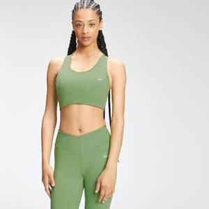 MP Women's Tempo Cross Back Repreve® Sports Bra - Apple Green