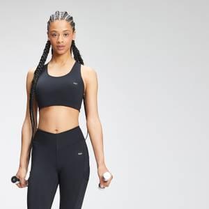 MP Women's Tempo Cross Back Repreve® Sports Bra - Black