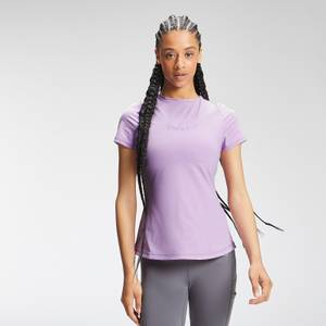 MP Women's Tempo Short Sleeve Top - Powder Purple