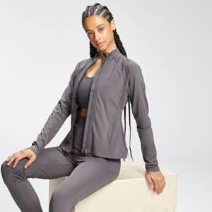 MP Women's Tempo Zip Front Jacket - Carbon
