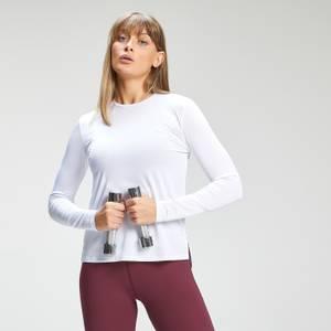 MP Women's Power Ultra Long Sleeved T-Shirt - White/Cloud
