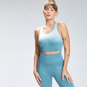 MP Women's Velocity Seamless Sports Bra - Ocean Blue