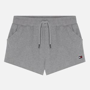 Tommy Jeans Drawstring Jersey Shorts - Grey Heather