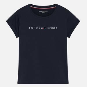Tommy Hilfiger Women's Tommy Original Short Sleeve T-Shirt - Navy Blazer