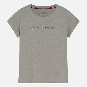 Tommy Hilfiger Women's Tommy Original Short Sleeve T-Shirt - Grey Heather