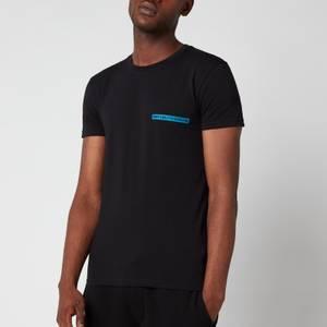 Emporio Armani Men's The New Icon Crew Neck T-Shirt - Black