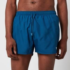Emporio Armani Men's Essential Swim Shorts - Blue
