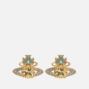 Vivienne Westwood Women's Ismene Earrings - Gold Light Turquoise
