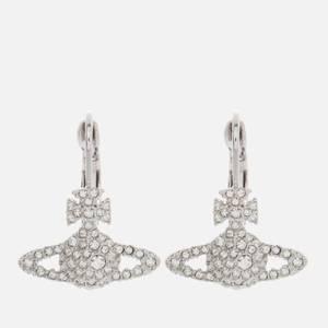Vivienne Westwood Women's Grace Bas Relief Earrings - Rhodium Crystal