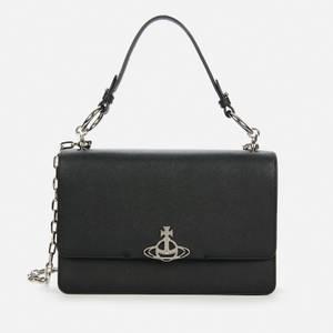 Vivienne Westwood Women's Debbie Large Bag with Flap - Black