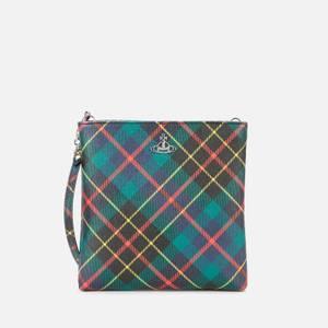 Vivienne Westwood Women's Derby New Square Cross Body Bag - Hunting Tartan