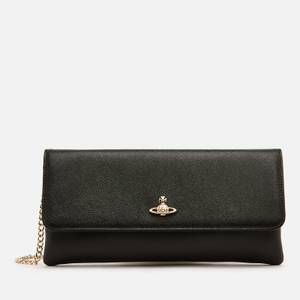 Vivienne Westwood Women's Victoria Clutch Bag with Flap - Black