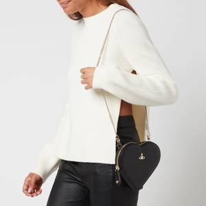 Vivienne Westwood Women's Victoria New Heart Cross Body Bag - Black