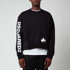 Dsquared2 Men's Leaf Sweatshirt - Black