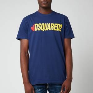 Dsquared2 Men's Canada T-Shirt - Navy Blue