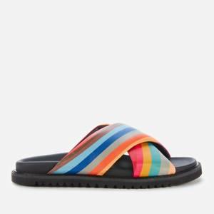 Paul Smith Women's Pax Swirl Cross Front Slide Sandals - Swirl